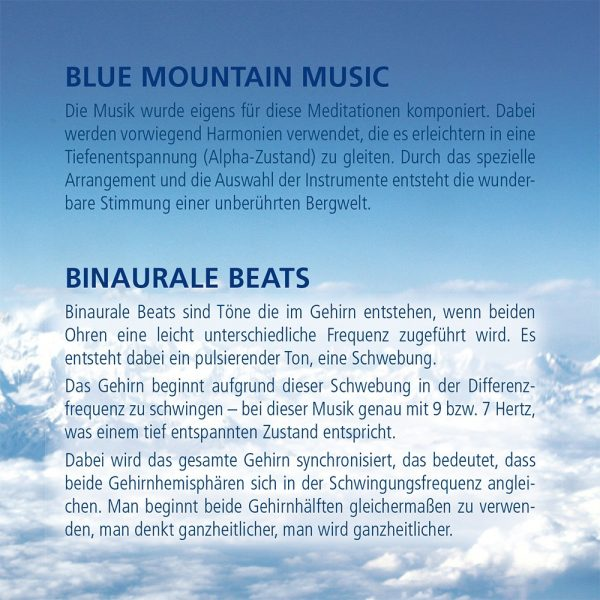 Cover Guided Meditation Blue Mountain Dreaming 2