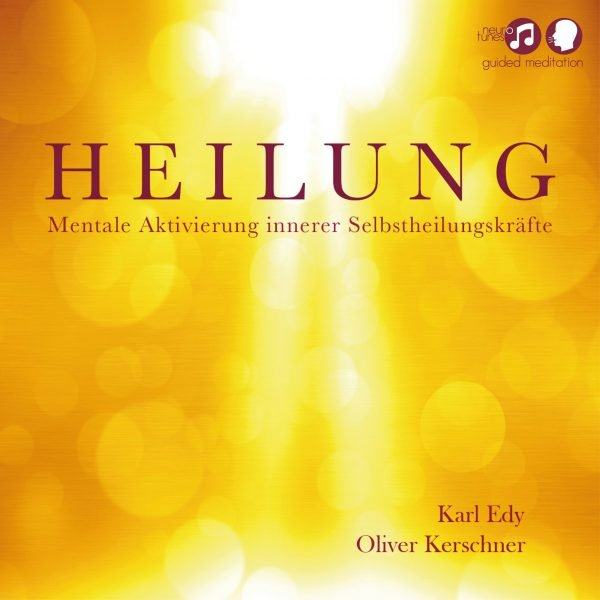 Cover Guided Meditation Heilung 1