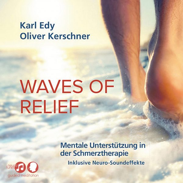 Cover Guided Meditation Waves Of Relief 1