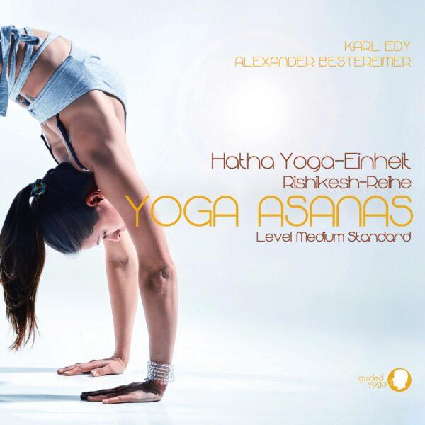 Cover Guided Meditation Yoga Asanas 1