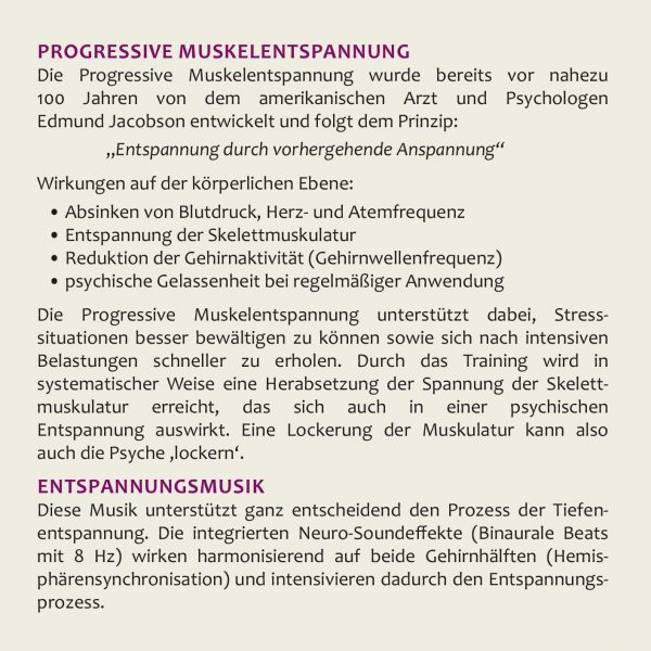 Cover Progressive Muskelentspannung 2