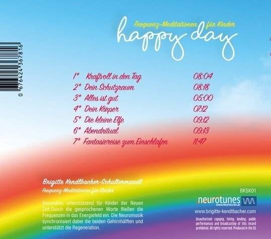 Happy Day Cover Hinten