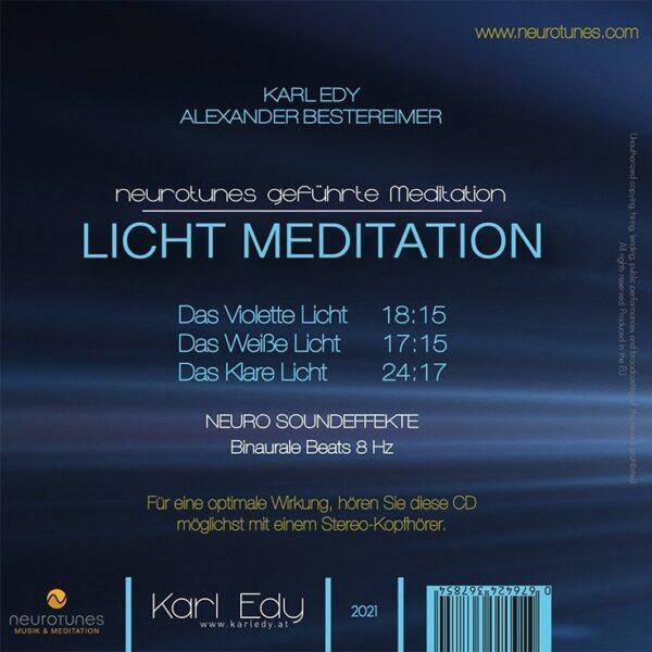 Licht Meditation Cd Cover 1
